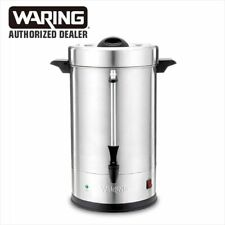 Waring Commercial Wcu110 Cup Coffee Urn Stainless Steel 1 Year Warranty Blowout