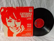 Caterina Valente LP Live Decca SLK 16626P German Pressing