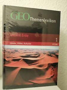 GEO - Themenlexikon - Unsere Erde - Band 1: Länder, Völker. Kulturen - Band 1