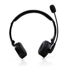 Bluetooth 4.1 Wireless A2DP Headset Dual Ear W Stereo Mic Fr Trucker PS3 Samsung
