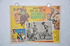 Stay Away Joe 1968 Mexican Lobby Card Movie Poster Elvis Presley