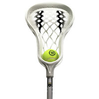 "Warrior Evo Warp Mini Youth Lacrosse Stick 34"" - White, Black (NEW) Lists @ $40"