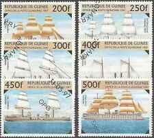 Timbres Bateaux Guinée 1117/22 o lot 473