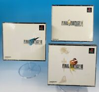 Lot 3 FINAL FANTASY 7 8 9 VII VIII IX FF PS1 Set Sony Playstation from Japan