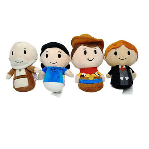 Itty Bittys Collection Obi Wan Woody Peanuts Ron Weasley Lucy Plush 11cm Washed