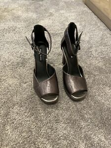 River Island Shoes Heels  Size 37 Uk 4 Bnwt £50 Ankle Strap 🎄new Year