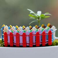 10 X Lattice Zaun Mini Schilder DIY Fairy Dollhouse Garten Pflanze Figur#HOT