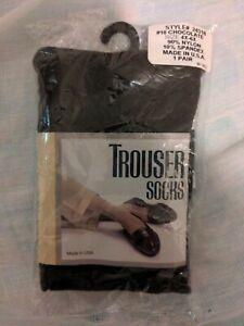 (4X-6x) brown  Trouser Socks