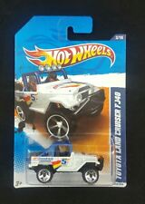 Hot Wheels White #5 Toyota Land Cruiser FJ40 #3 - HW Performance - 2011