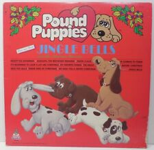 Vintage 80's Pound Puppies Jingle Bells Other Christmas Song Favorites Lp Record