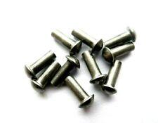 10x 2mm Halbrundnieten DIN 660 Vollnieten V2 A Edelstahl VA Halbrundkopf
