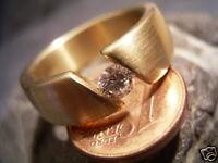 REIF-DESIGN - SEHR EDLER BRILLANT SPANNRING AUS EIGENER GOLDSCHMIEDE - 750 GOLD