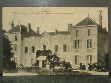cpa 81 chateau de pinel par puy laurens