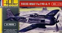 Heller - Focke-Wulf Fw 190 A8/F3 Modelo Equipo de Construcción 1:72 Nuevo Punta