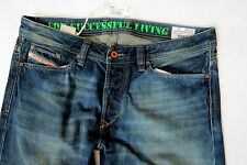 Diesel Men Jeans 32 W x 36 Viker 882T Aged Distressed Brand New with Tags