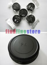 5pcs Rear lens cap cover for Pentax K PK mount lens Wholesale lots 5x