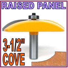 """1pc 3-1/2"""" Diameter Convex Cove Raised Panel Router Bit sct-888"""