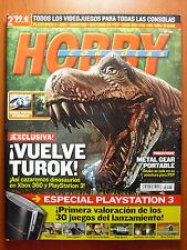 Revista Hobby Consolas nº 186 + póster doble de regalo... Ridge Racer 7 & Turok