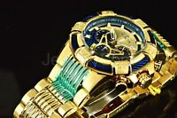 Invicta Men's Watch 25542 Bolt Chronograph Gold/Blue Dial Gold Tone Stainless
