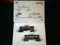 Marklin HO 4581 USA Texas Tank Car Set