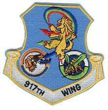 OLD USAF patch - 917th Wing - Air Force Reserve - Barksdale AFB