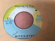 MITCH RYDER -ID RATHER GOT TO JAIL-NEWVOICE 824 - NORTHERN SOUL VG+