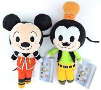 Mickey Mouse and Goofy set of 2 Kingdom Hearts 2017 Funko Disney Plushies Plush