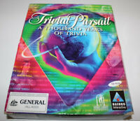 Trivial Pursuit A Thousand Years Of Triva PC CD-Rom Game Big Box Version