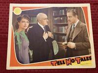 Tell No Tales Original Movie Lobby Card 1939 Melvyn Douglas MGM 11x14