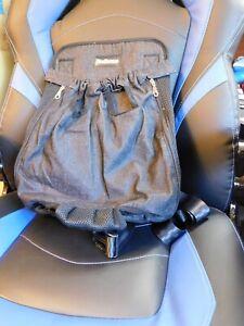 PetBonus denim XXL Dog Backpack Carrier New
