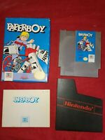 Paperboy (Nintendo Entertainment System, 1988) CIB Complete - Tested