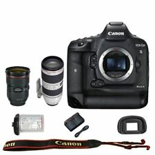 Canon EOS 1DX mark II DSLR + 24-70mm f/2.8L II + 70-200mm f/2.8L IS II