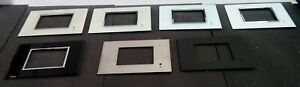 Clipsal 5080CTCF,GF Colour Touch Screen Facia, Glass - Various Colors