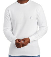 Polo Ralph Lauren Mens Long Sleeve Thermal Waffle Knit T Shirt White XXL NWT
