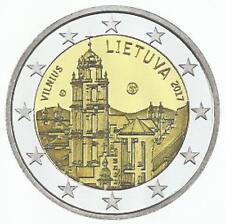 LITOUWEN 2017- 2 euro - Vilnius -Cultuur-en Kunststad/Ville d'art et culture-UNC