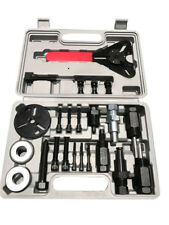 23pc A/C Deluxe Automotive Compressor Clutch Hub Remove Install Tool w/ spanner