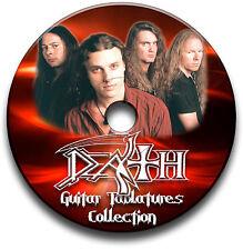 DEATH HEAVY METAL ROCK GUITAR TAB TABLATURE SONG BOOK SOFTWARE CD