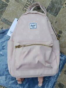 Herschel Supply Company Nova Small ~ Polka Cameo Rose Backpack