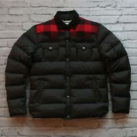 Penfield Trailwear Western Plaid Quilted Down Puffer Jacket M Buffalo Stapleton