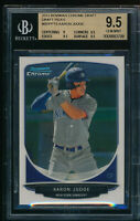 BGS 9.5 AARON JUDGE 2013 Bowman Chrome Draft Picks Rookie RC GEM MINT QUANTITY