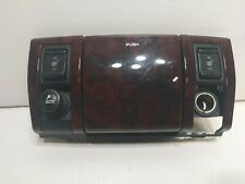 99-04 2000 Jeep Cherokee WJ Woodgrain Ashtray Heated Seat Switch 12v outlet XOX4