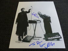 YAZOO Vince Clarke & Alison Moyet signed Autogramme auf 20x25 cm Foto InPerson