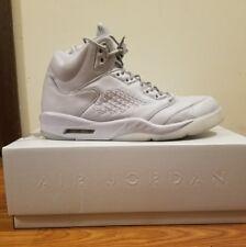 """Nike Air Jordan 5 V Retro Premium """"Pure Platinum"""" size 14"""