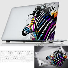 Clear Painting Hard Rubberized Case Mac Book For Reina Macbook Laptop +kb Cover