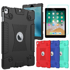 For iPad 9.7 inch 2018/6th Gen/5th Gen Soft Tablet Case Cover+Screen Protector