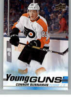 2019-20 Upper Deck #208 Connor Bunnaman RC Rookie Philadelphia Flyers Young Guns