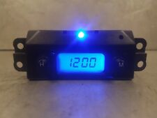 Ford Focus Mk1 1998-2004 Reg Blue Led Digital Time Clock