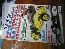 1µ?a Revue Tamiya Model Magazine n°42 McLaren MP4 Flakpanzer Caterham Seven JPE