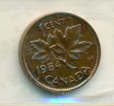 ICCS Canada 1954 1 cent PL-66 SF; Red; Cameo XZ 403