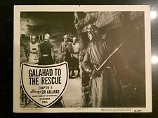 """1949 Columbia Pictures Galahad To The Rescue Chapter 5 & 6 Lobby Cards 11""""x14"""""""